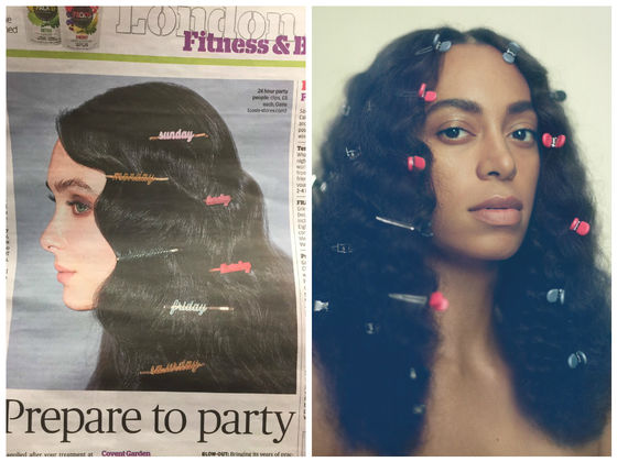 A London Newspaper Photoshoot Is Being Majorly Called Out For Copying Solange Knowles' Album Cover