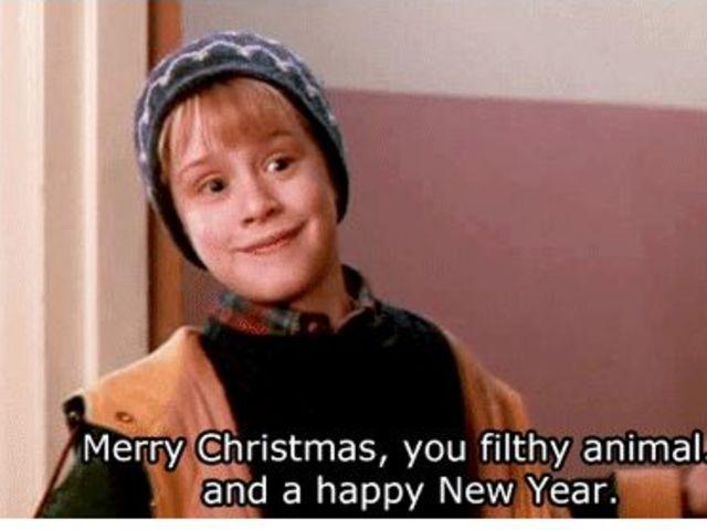 Merry Christmas Ya Filthy Animal Meme.15 Christmas Movie Sayings Everyone Should Know Playbuzz