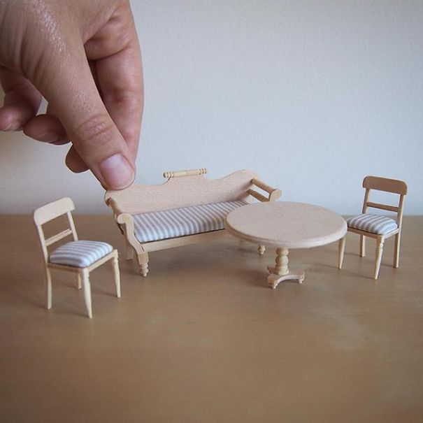 This Lawyer Quit Her Job To Make Tiny Furniture Playbuzz