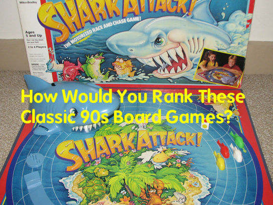 How Would You Rank the Classic 90s Board Games?