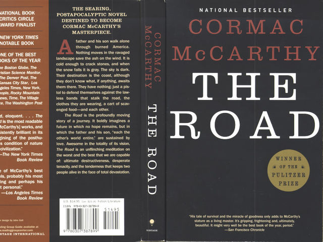 essays book road cormac mccarthy Thanks to the students who gave permission to use their essays as samples in an essay, discuss the ending of cormac mccarthy's the road.