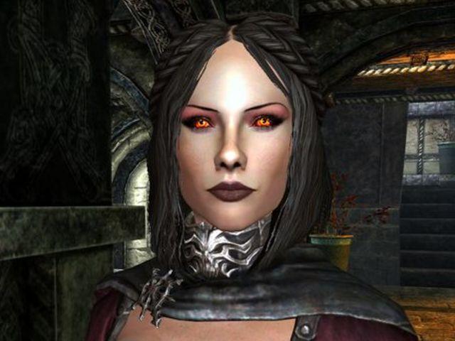 skyrim better vampire eyes