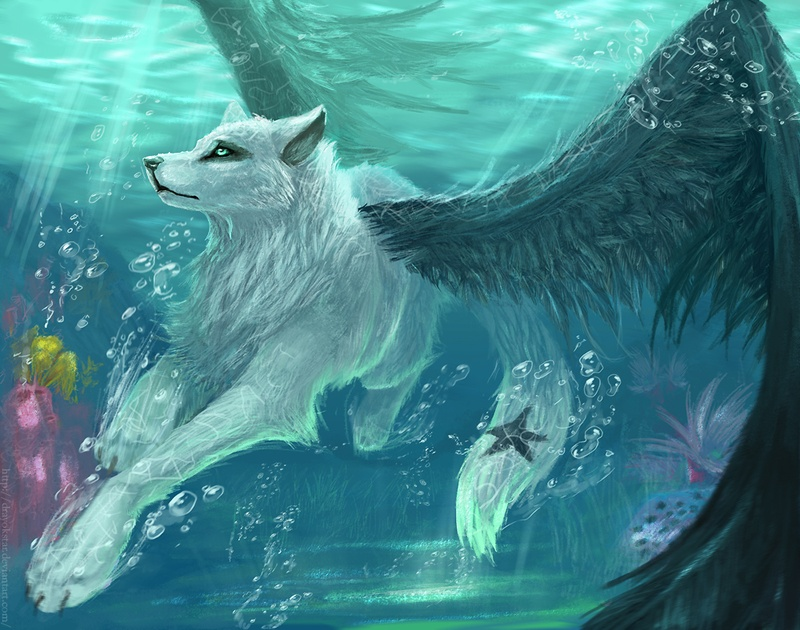 Take A Look At These Spectacular Elemental Wolves | Playbuzz