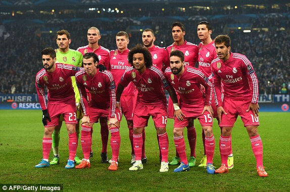 pretty nice a0f40 b038b Real Madrid And 10 Other Teams Who Were Once Pretty In Pink ...