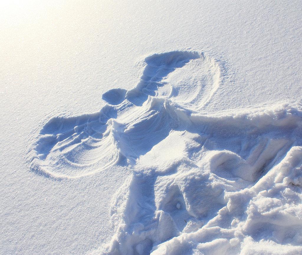 snow angel naked Shacks