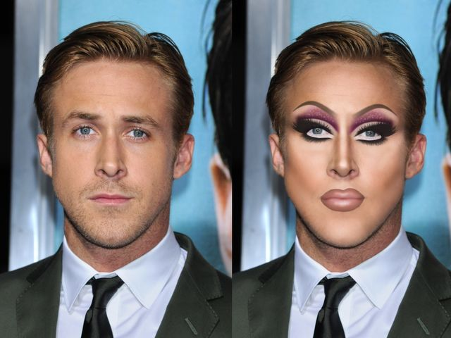Male Celebrities Have Been Given Drag Queen Makeovers and