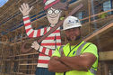 This Construction Worker Spends Time Every Day Bringing Joy To The Kids In The Children's Hospital Next Door!