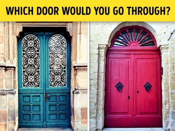 Exceptional Test: Choose A Door A Nd Weu0027ll Reveal Your True Personality