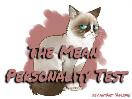 The Mean Personality Test