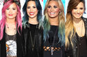 Can you guess the year by Demi Lovato's hair?