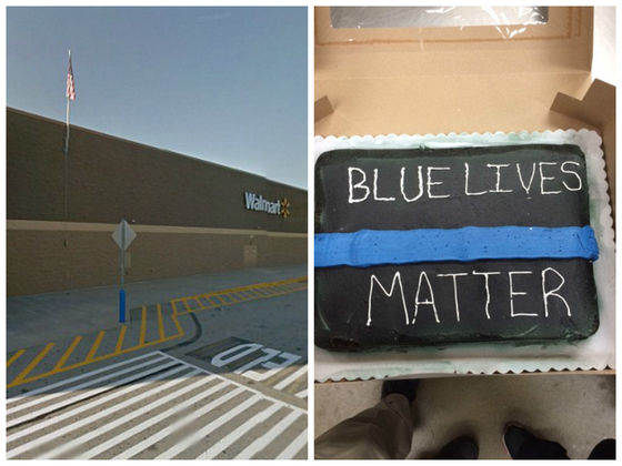 Three Walmart Workers May Have Refused To Decorate A Cake For A Police Officer, Claiming It Was Racist