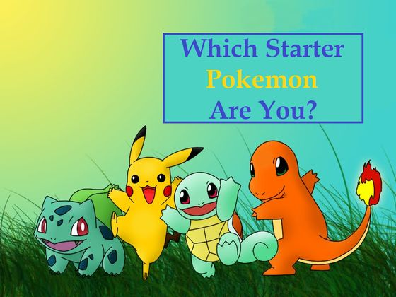 Which Starter Pokemon Is Most Like You?