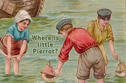 Hurry! Can You Help Us Find Little Pierrot Before He Drowns?