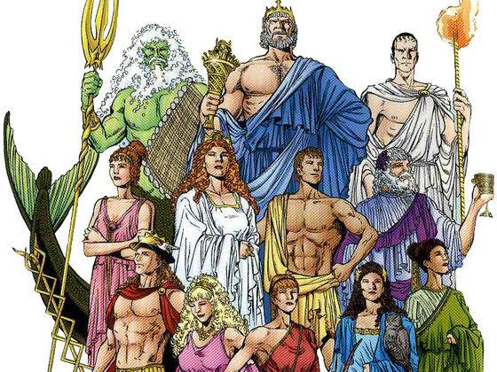 Story of greek mythology gods and goddesses
