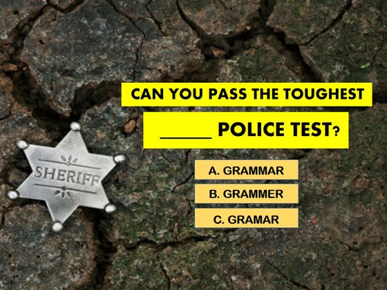 Almost No One Can Pass The TOUGHEST Grammar Police Test! Can You?