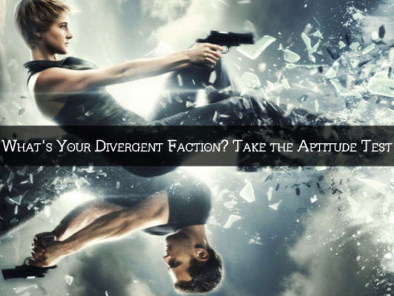 whats your divergent faction take the aptitude test