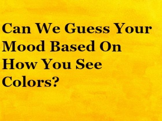 Can We Guess Your Mood Based On How You See Colors?