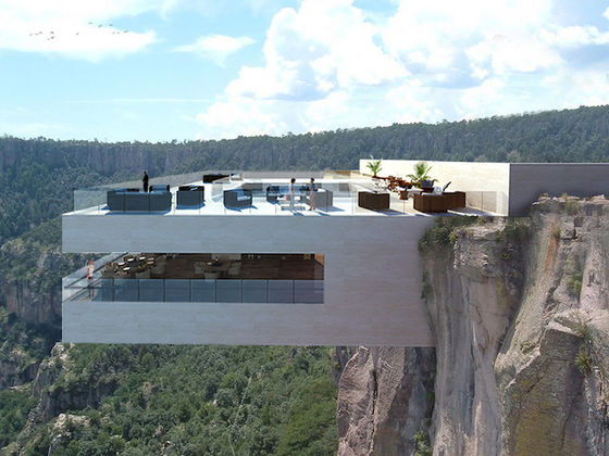 Eating at this Gravity Defying Restaurant Will Make You Lose Your Appetite