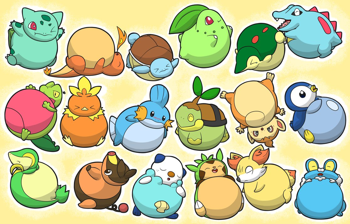 what is you starter pokémon