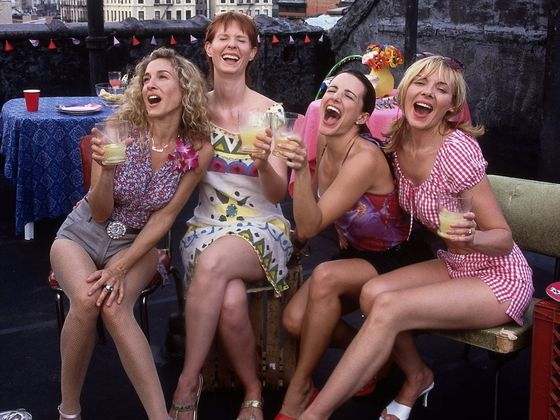 Which sex and the city girl are you