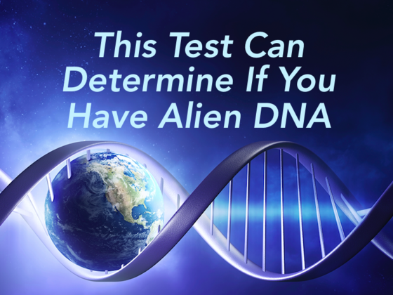 This Test Can Determine If You Have Alien DNA