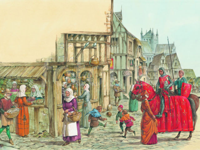 the power struggle between the church and state in the high middle ages in england The conflict between popes and kings during the middle ages in europe church vs state: medieval europe the power of the church the church wielded great power.