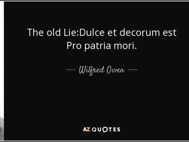 similarities between macbeth and dulce et decorum est The language used by rupert brooke and wilfred owen, for the soldier and dulce et decorum est is vastly different from each other, even though both poems were about war.