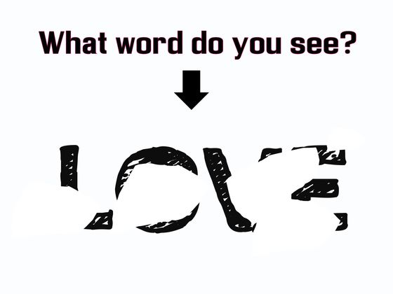 Are You Smart Enough To Read These Erased Words?