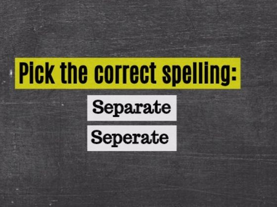 Stop Everything!! Only 4 In 50 Americans Can Spell These Everyday Words.