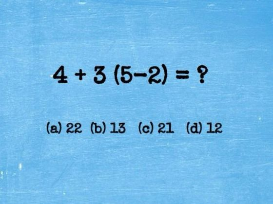 This 11-Question IQ Test Is Driving The Internet Crazy