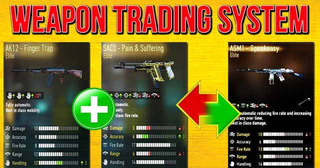 Trading system on advanced warfare