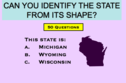 Only A True Geography Expert Can Name All 50 US States From Their Shape
