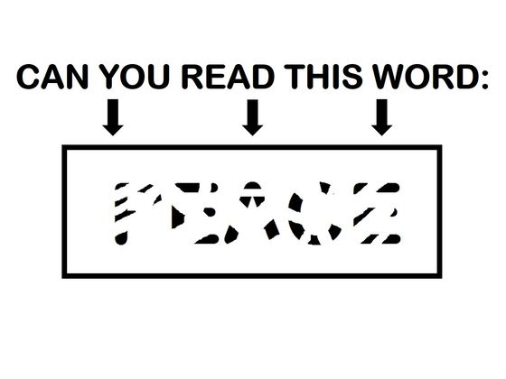Only People With a High IQ Will Be Able To Read These Erased Words! Can You?