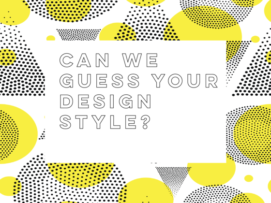Can We Guess Your Design Style?