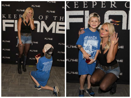This Precious 6-Year-Old Proposed To Miranda Lambert, And She Said Yes... In 25 Years!