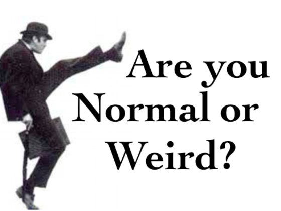 Are You Normal Or Weird?