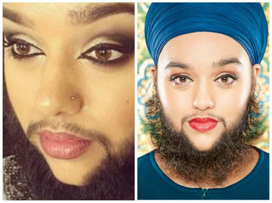 This Bearded And Body-Positive Model Just Set A Guinness World Record