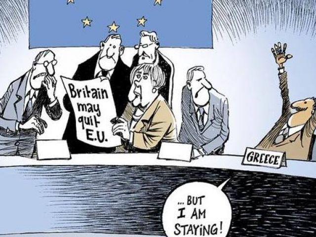 Британия уходит? Зато Греция остаётся!