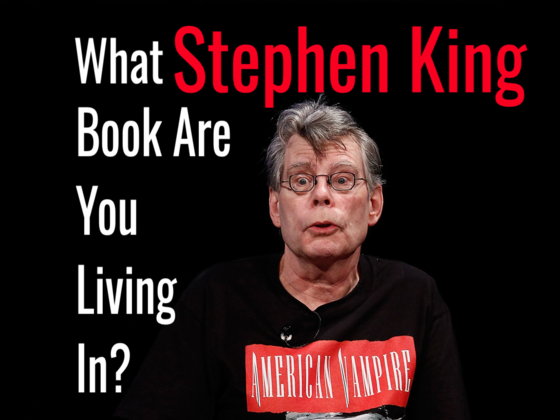 What Stephen King Book Are You Living In? Yes, You Might Just Be One Of His Characters