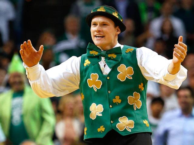 Αποτέλεσμα εικόνας για lucky the leprechaun boston celtics