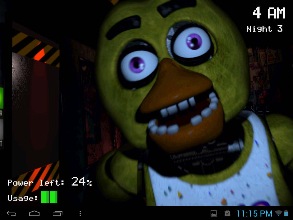 what s your five nights at freddy s animatronic name
