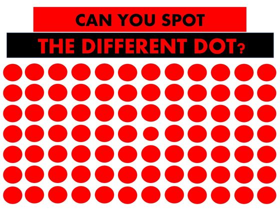 Only Potential Geniuses Can See The Odd Shape In This Vision Test!