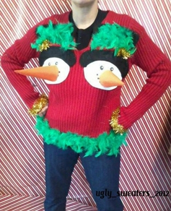 20 Seriously Fugly Christmas Sweaters Playbuzz
