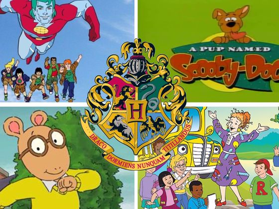 We Can Guess Your Hogwarts House Based On Your Favorite 90s Cartoons!