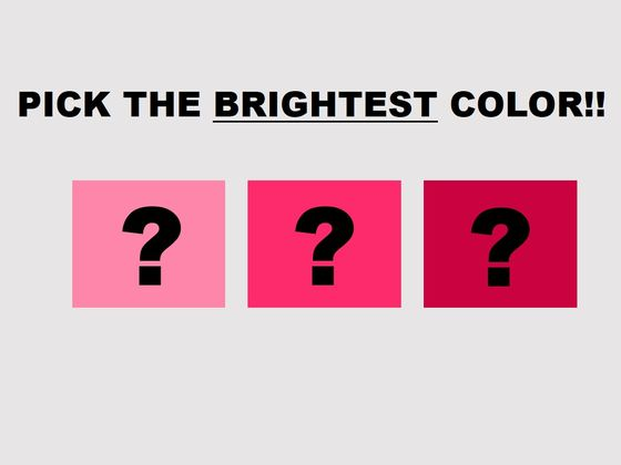 Can We Guess If You Are Right Or Left Brained Based On Colors