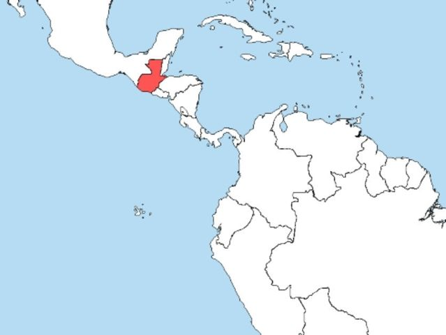 Какая страна выделена на карте?