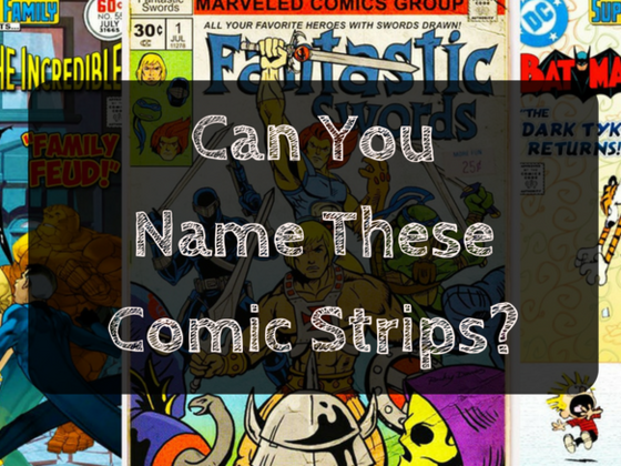 Can You Name These Comic Strips?