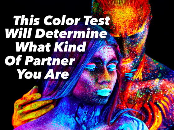 This Colour Test Will Determine What Kind Of Partner You Are