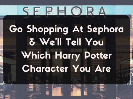 Go Shopping At Sephora And We'll Tell You Which Harry Potter Character You Are