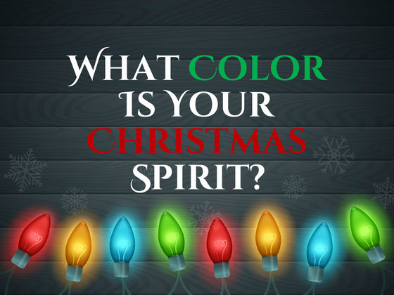 Which Christmas Color Is Your Christmas Spirit?